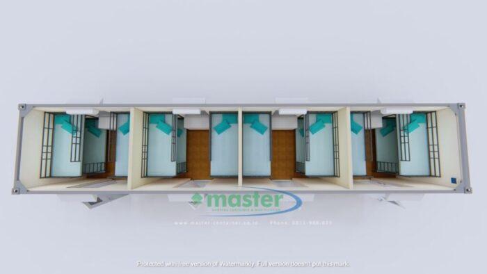 Mengkonversi Container Bekas Menjadi Bangunan Portabel Office Container